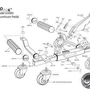Aluminum Cast Foot Pedal